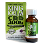 300mg/30ml KING KALM CANNABIDIOL (CBD) OIL PRO STRENGTH (1/50cs)